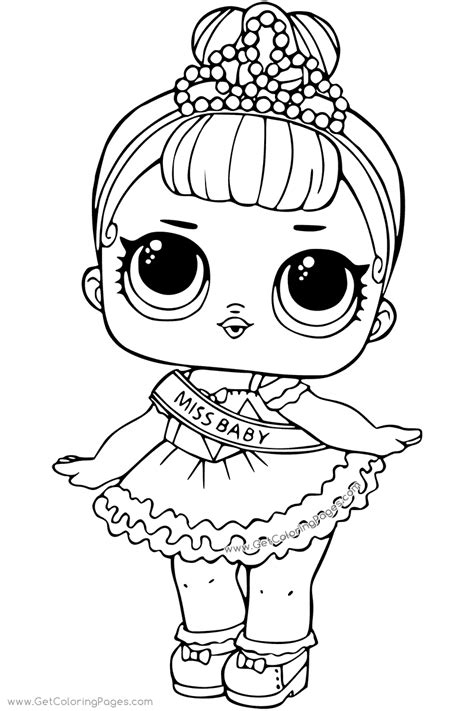 lol surprise coloring stardust queen  coloring pages