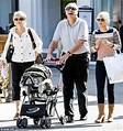 Anna Faris and bouncing baby Jack wear matching stripes ...