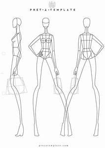 1000+ ideas about Fashion Illustration Template on ...