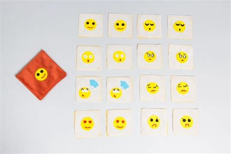 emotions memory game charity item  glam cases