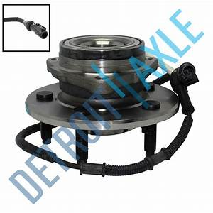 Front Wheel Bearing And Hub For 2000 2001 2002 2003 Ford F Abs 4x4