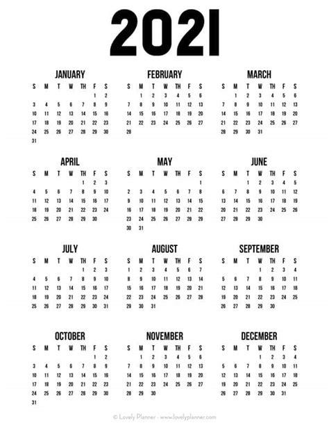 pretty  printable  page calendars