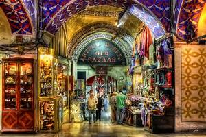 The Grand Bazaar – Turkish Place That Glows With Lfe