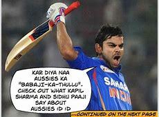Virat Kohli does