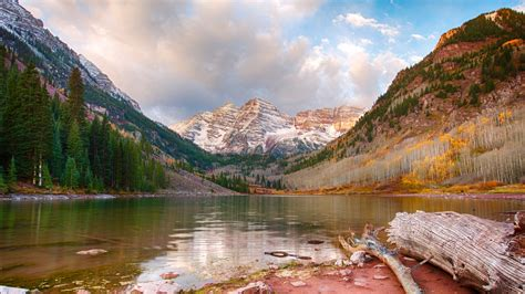 Maroon Lake Aspen Colorado Wallpapers Hd Wallpapers Id