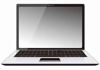 Laptop Transparent Computer Clipart Background Laptops Personal
