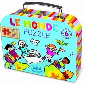 Carte Du Monde En Bois : jouet en bois puzzle en bois carte du monde vilac 150 pi ces jouets des bois ~ Teatrodelosmanantiales.com Idées de Décoration
