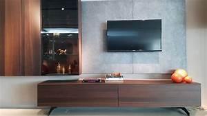 Meuble Tv Suspendu Led : meuble tv suspendu avec led chateaubriand ~ Melissatoandfro.com Idées de Décoration