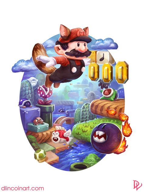My Super Mario Bros 3 Fan Art Mario
