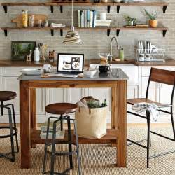mobile islands for kitchen portable kitchen islands popsugar home