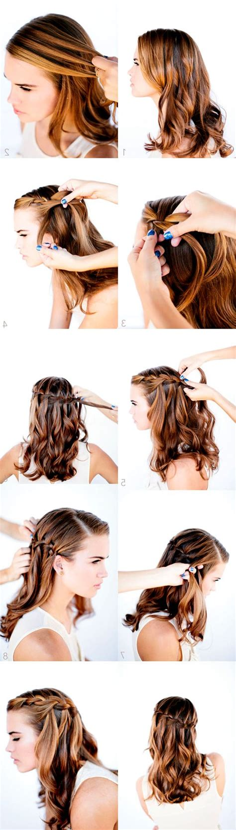 25 best ideas about school picture hairstyles on braid styles step by step