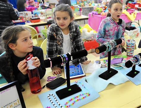 kids test entrepreneurial skills at deerfield flea market
