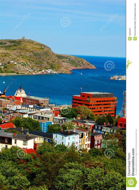 St. John's, Newfoundland Stock Image - Image: 1925041