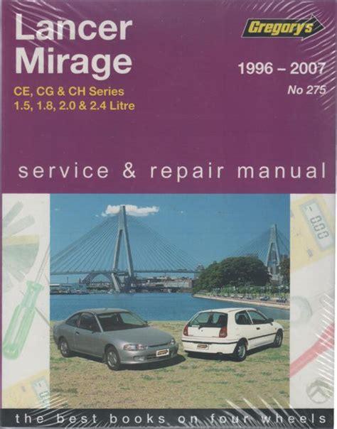 auto repair manual online 1987 mitsubishi mirage electronic valve timing mitsubishi lancer mirage ce 1996 2007 gregorys service repair manual sagin workshop car