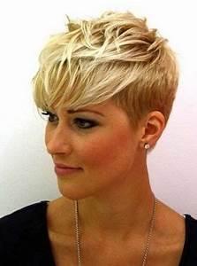 Coupe De Cheveux Femme Courte 2017 : 17 best ideas about coiffures courtes on pinterest short ~ Melissatoandfro.com Idées de Décoration