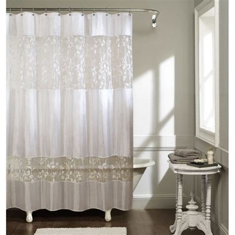 butterfly shadow fabric shower curtain white home decor