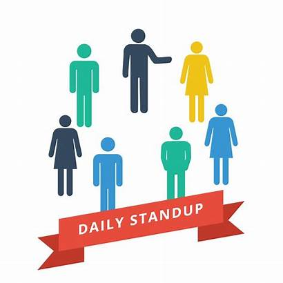 Scrum Daily Stand Commitment Involvement Meeting Standup