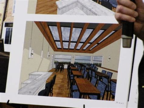 Deck Michael Skylights by Bank Rooftop Dining In Seafood Restaurant Proposed