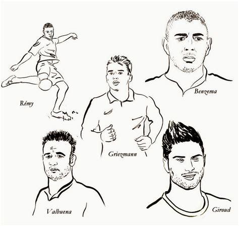 dessin de foot  colorier gratuit