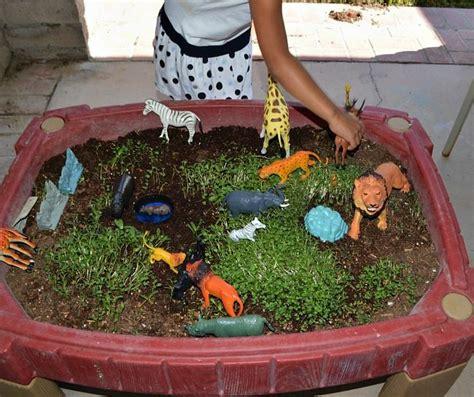 animal kingdom preschoolers sensory activities pond sensory play littles 51683