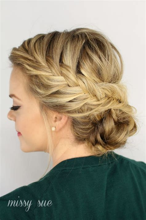 Hairstyles For Thin Hair Updos by Hairstyles For Thin Hair 7 Hairstyles That Add Volume