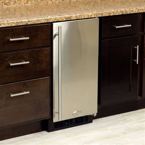 kitchen cabinets in massachusetts marvel ma15cps1rs 15 inch built in maker with 39 lbs 6139