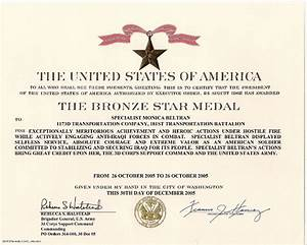 virginia women in history 2012 monica beltran With bronze star certificate template