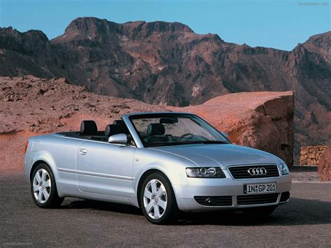 Audi A4 Cabriolet 2000 Exotic Car Image 022 Of 43