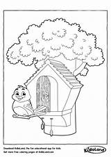 Bird Coloring Pages Birdhouse Worksheets Printable Drawing Kidloland Printables Birds Worksheet Educational Activity Getdrawings Getcolorings sketch template