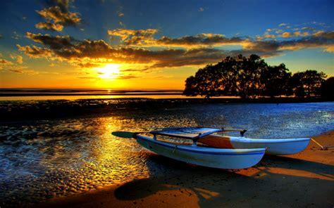 Pin Sunset Amazing Beach Landscape Nature Wallpapers Hi On