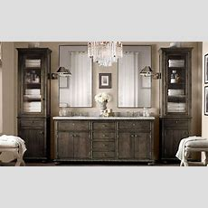 Vanity  Restoration Hardware  Love This Color  Home