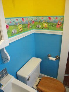 spongebob bathroom decor walmart spongebob bathroom if my boys only had their own