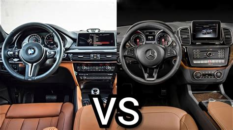 We say cheeky because there's no doubt in the dirt. BMW X6 VS Mercedes-Benz GLE Coupe - INTERIOR - YouTube