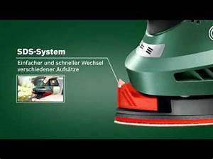 Bosch Psm 18 Li : bosch stellt vor akku multischleifer psm 18 li youtube ~ Orissabook.com Haus und Dekorationen