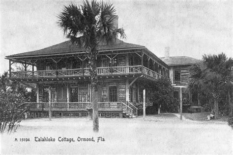Cottage In Fla by Florida Memory Talahloko Cottage Ormond Fla