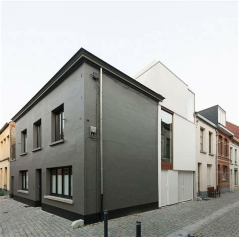 Graue Fenster Welche Fassade by Graue Fenster Fassade Wohn Design