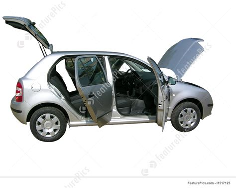 Image Of Car With Open Doors