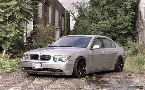Stance Bmw 745i E65 Front