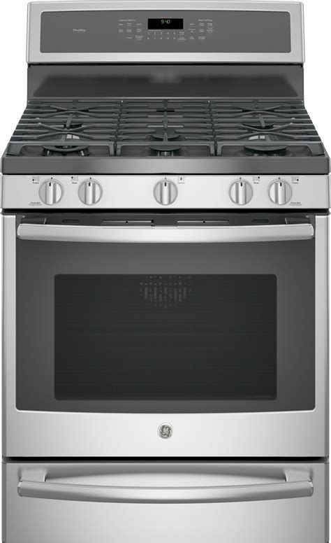 "P2b940sejss  Ge Profile 30"" Dual Fuel Range, Convection"