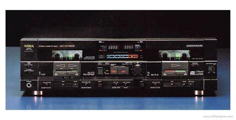 Best Dual Cassette Deck aiwa ad wx909 manual stereo double cassette deck