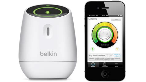 iphone baby monitor belkin s wemo baby monitor turns your iphone into a nanny