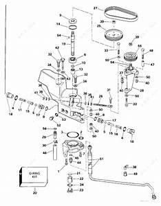 Evinrude 1994 300 - E300plerc  Power Steering Pump