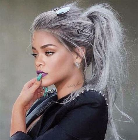 Hair Color White by Best 25 Silver White Hair Ideas On Grey White