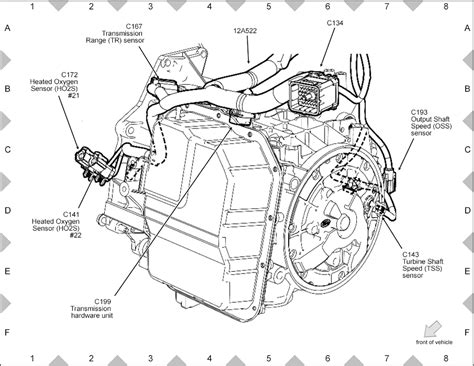 2011 Ford Escape Transmission Diagram