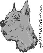   view 778 great dane illustration, images and graphics from +50,000 possibilities. Great Dane Clip Art - Royalty Free - GoGraph