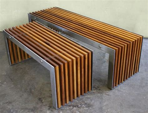 How To Build Patio Chairs by Obbligato Slat Bench