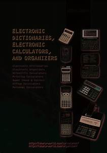 Electronic Calculator Manuals