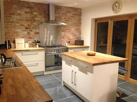 Traditional Kitchen Backsplash Ideas - customer kitchen wooden worktop gallery worktop express