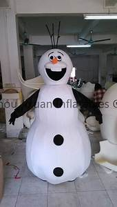 Schneemann Kostüm Selber Machen : olaf schneemann kost m schneemann olaf maskottchen kost m f r erwachsene maskottchen produkt id ~ Frokenaadalensverden.com Haus und Dekorationen