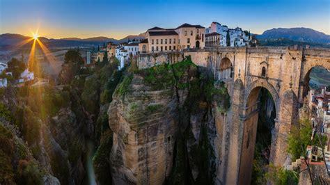 Spain Ronda Málaga Puente Nuevo Europe